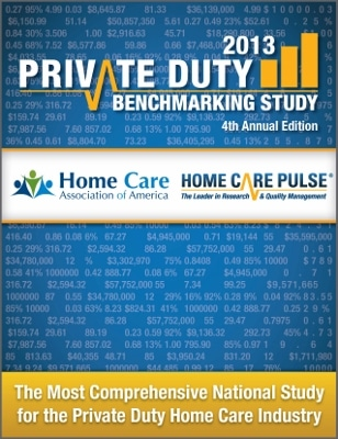 2013 Private Duty Benchmarking Study Cover