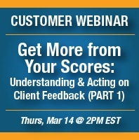 Webinar Announcement: Get More From Your Scores (PART 1)