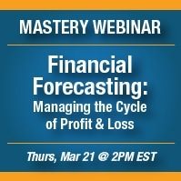Webinar Announcement: Financial Forecasting