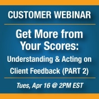 Get more from your scores webinar announcement