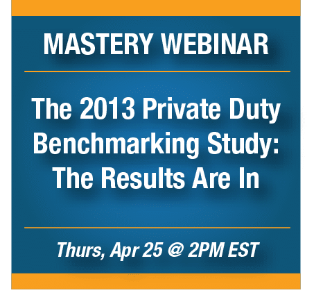 The Results Are In! - Webinar Graphic April 25, 2013