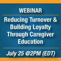 Caregiver Education and Reducing Turnover