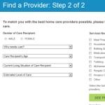 Find a home care provider