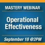 Webinar - Operational Effectiveness [150x150]