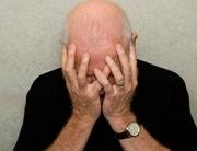 Elderly Man Despair