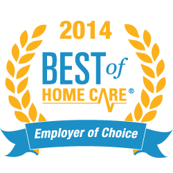 Best of Home Care - Employer of Choice Award