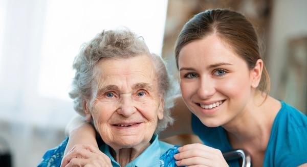 Happy Client & Caregiver