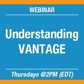 Understanding VANTAGE Webinar