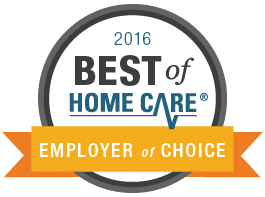 2016 Best of Home Care - Employer of Choice