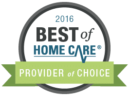 2016 Best of Home Care - Provider of Choice