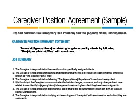 Reduce caregiver turnover home care pulse for Livein caregiver contract