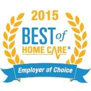 2015 Best of Home Care - Employer of Choice