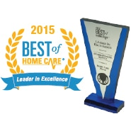 2015 Best of Home Care - Leader in Excellence