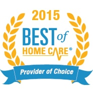 2015 Best of Home Care - Provider of Choice