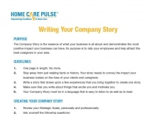 marketing sales home care pulse