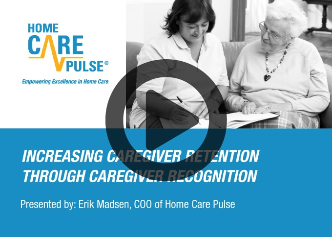 Increasing Caregiver Retention Through Caregiver Recognition
