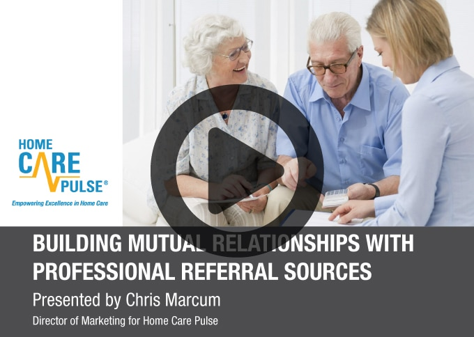 Building Mutual Relationships With Professional Referral Sources