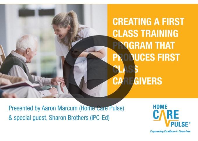 Creating a First-Class Training Program