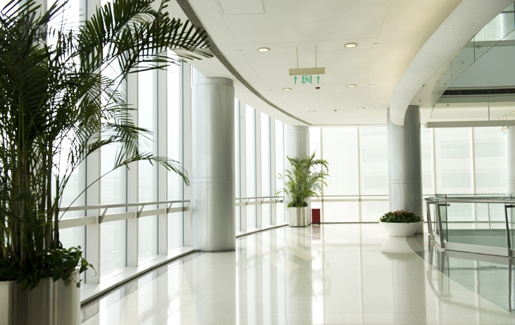 bright office space