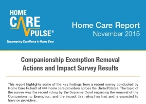 Companionship Exemption Survey Results