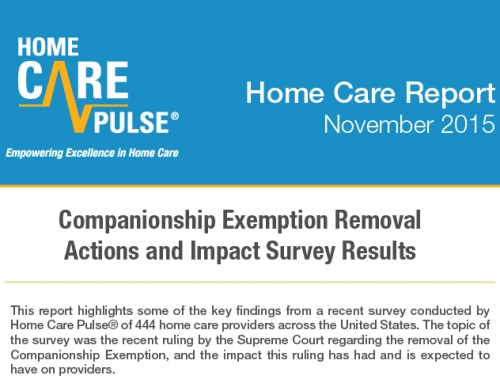 Companionship Exemption Survey Results