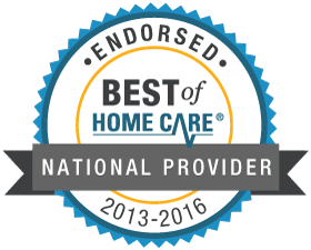 Best of Home Care Endorsed National Provider