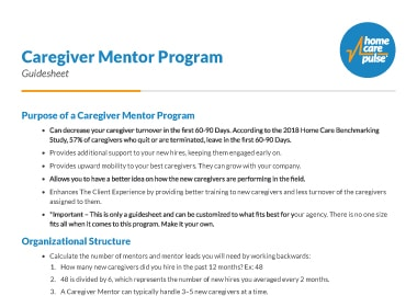 Caregiver-Mentor-Program-Guidesheet