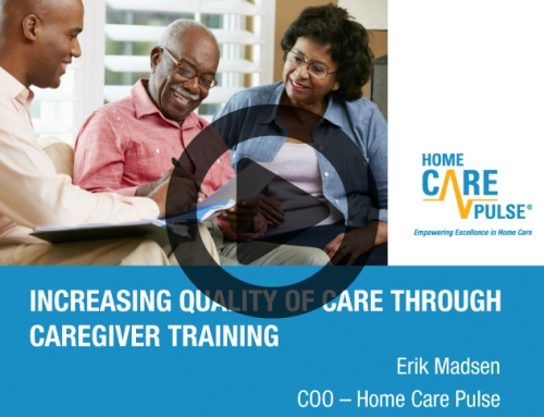 Increasing Quality of Care Through Caregiver Training