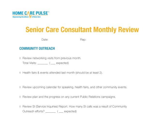 Senior-Care-Consultant-Monthly-Review