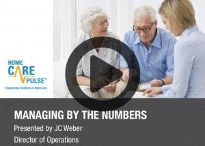 Managing by the Numbers Webinar