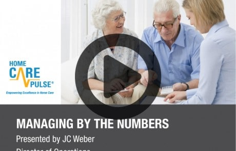 Managing by the Numbers Webinar