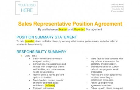 sample-sales-rep-position-agreement-landscape