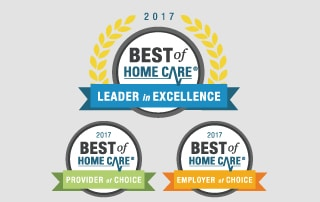 2017 Best of Home Care Award Winners