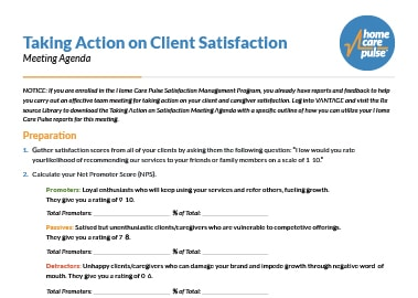 Taking Action on Client Satisfaction preview