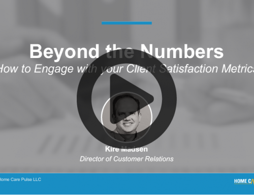 Beyond the Numbers – How to Engage with your Client Satisfaction Metrics