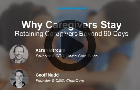 Why Caregiver Stay Retaining Caregivers Past 90 Days
