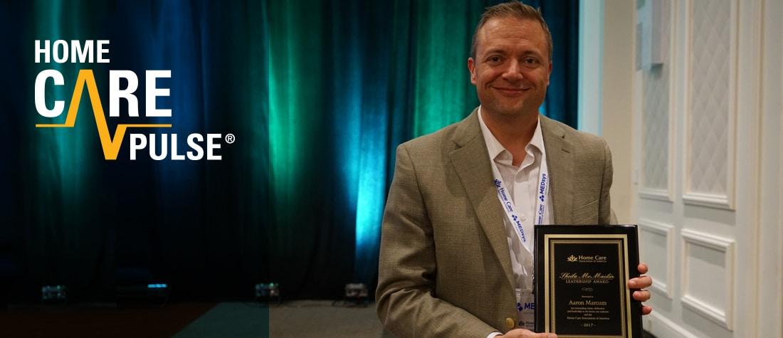 Sheila McMackin Leadership Award - Aaron Marcum