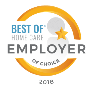 2018 Best of Home Care Employer of Choice Award