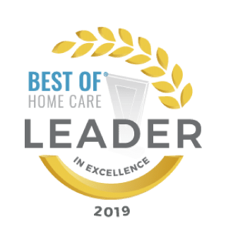 2019 Best of Home Care Leader in Excellence