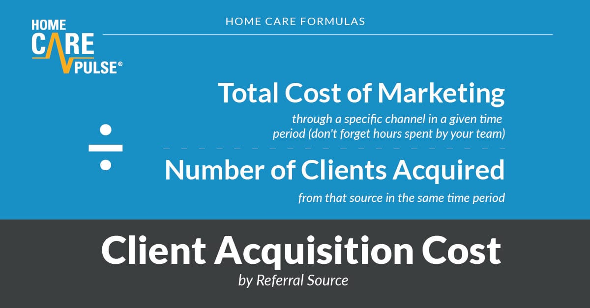 running-a-home-care-agency-client-acquisition-cost