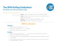 SPIN-Selling-Guidesheet