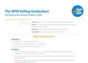 SPIN-Selling-Guidesheet