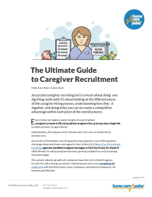The Ultimate Guide To Caregiver Recruitment PDF