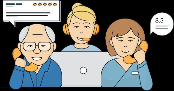 Client and Caregiver Phone Surveys