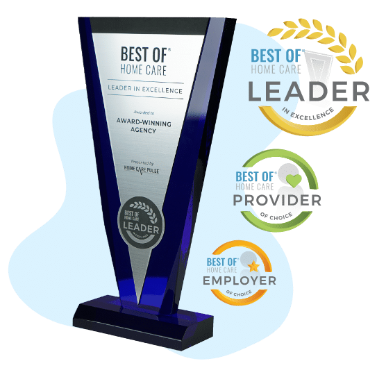 Best of Home Care Award Cluster