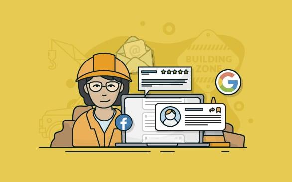Building an online reputation
