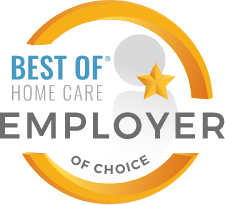 Best of Home Care Employer of Choice Award