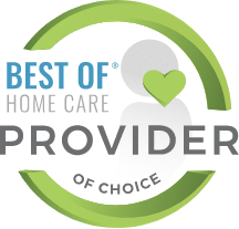 Best of Home Care Provider of Choice Award